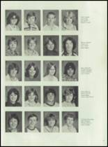 1980 La Pine High School Yearbook Page 20 & 21