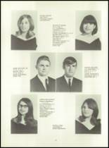1971 Highland High School Yearbook Page 16 & 17