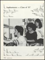 1985 High Point High School Yearbook Page 186 & 187