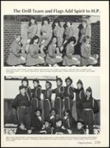 1985 High Point High School Yearbook Page 242 & 243