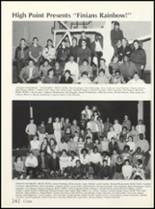1985 High Point High School Yearbook Page 246 & 247