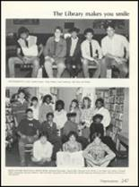 1985 High Point High School Yearbook Page 250 & 251