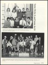 1985 High Point High School Yearbook Page 254 & 255