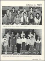1985 High Point High School Yearbook Page 256 & 257