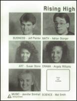 1989 Clearfield High School Yearbook Page 182 & 183