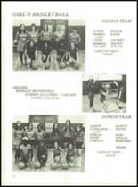 1973 Dickinson High School Yearbook Page 154 & 155