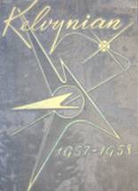 1958 Yearbook Kelvyn Park High School
