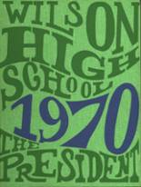 1970 Yearbook Wilson High School