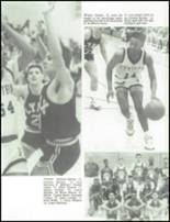 1990 Central High School Yearbook Page 42 & 43