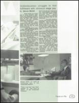 1990 Central High School Yearbook Page 110 & 111