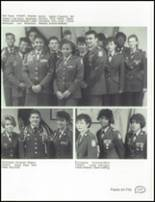 1990 Central High School Yearbook Page 130 & 131