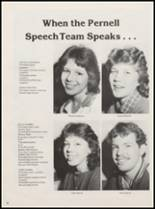1984 Pernell High School Yearbook Page 40 & 41