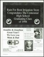 1998 Centennial High School Yearbook Page 292 & 293