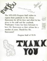 1979 Washington Union High School Yearbook Page 170 & 171