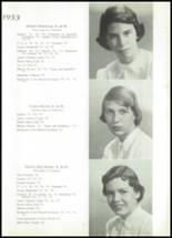 1953 Visitation Academy Yearbook Page 12 & 13