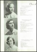 1953 Visitation Academy Yearbook Page 22 & 23