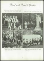1953 Visitation Academy Yearbook Page 34 & 35