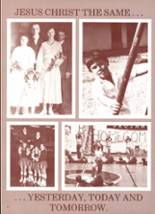 1983 Trinity Christian Academy Yearbook Page 16 & 17