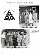 1968 MacArthur High School Yearbook Page 154 & 155