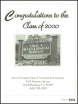 2000 South Pasadena High School Yearbook Page 286 & 287