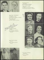 1953 Siloam Springs High School Yearbook Page 14 & 15