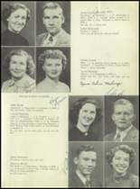 1953 Siloam Springs High School Yearbook Page 22 & 23
