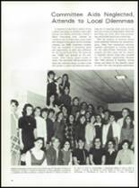 1969 Walter Johnson High School Yearbook Page 42 & 43