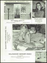 1969 Walter Johnson High School Yearbook Page 244 & 245