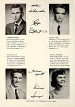 1958 Geneva High School Yearbook Page 20 & 21
