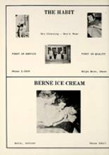 1958 Geneva High School Yearbook Page 74 & 75
