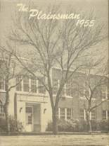 1955 Yearbook Plains High School