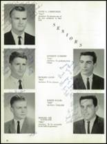 1964 Oakfield-Alabama High School Yearbook Page 20 & 21