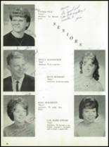 1964 Oakfield-Alabama High School Yearbook Page 30 & 31