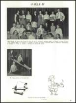 1964 Oakfield-Alabama High School Yearbook Page 68 & 69
