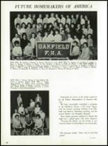 1964 Oakfield-Alabama High School Yearbook Page 78 & 79