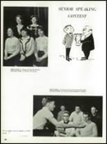 1964 Oakfield-Alabama High School Yearbook Page 92 & 93