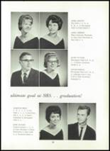 1966 Shawneetown High School Yearbook Page 32 & 33