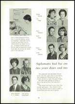 1966 Shawneetown High School Yearbook Page 46 & 47