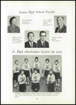 1966 Shawneetown High School Yearbook Page 56 & 57