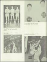 1967 Imlay City High School Yearbook Page 36 & 37