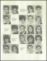 1967 Imlay City High School Yearbook Page 70 & 71