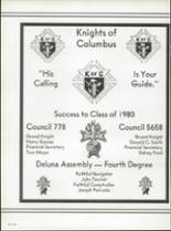 1980 Pensacola Catholic High School Yearbook Page 168 & 169