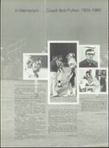 1980 Pensacola Catholic High School Yearbook Page 174 & 175