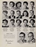 1955 Fremont High School Yearbook Page 12 & 13