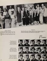 1955 Fremont High School Yearbook Page 22 & 23