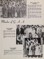 1955 Fremont High School Yearbook Page 74 & 75