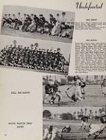 1955 Fremont High School Yearbook Page 84 & 85