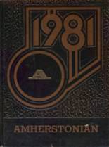 1981 Yearbook Amherst Steele High School