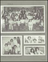 1981 Granbury High School Yearbook Page 100 & 101