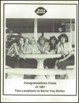 1981 Granbury High School Yearbook Page 154 & 155